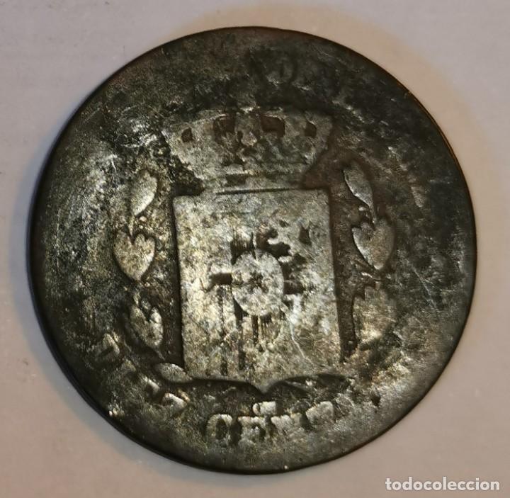 Monedas de España: MONEDA DE 10 CENTIMOS ALFONSO XII-1878 - Foto 2 - 219104566