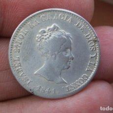 Monedas de España: 4 REALES ISABEL II 1841 BARCELONA MUY BONITA. Lote 219107661