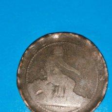 Monedas de España: MONEDA DE 10 CENTIMOS GOBIERNO PROVISIONAL 1870. Lote 219123991