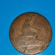 Monedas de España: MONEDA DE 10 CENTIMOS GOBIERNO PROVISIONAL 1870. Lote 219124025