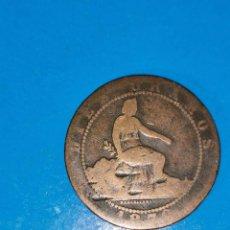 Monedas de España: MONEDA DE 10 CENTIMOS GOBIERNO PROVISIONAL 1870. Lote 219124071