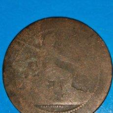 Monedas de España: MONEDA DE 10 CENTIMOS GOBIERNO PROVISIONAL 1870. Lote 219125303