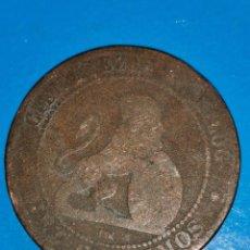 Monedas de España: MONEDA DE 10 CENTIMOS GOBIERNO PROVISIONAL 1870. Lote 219125332