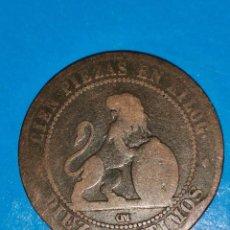 Monedas de España: MONEDA DE 10 CENTIMOS GOBIERNO PROVISIONAL 1870. Lote 219125470