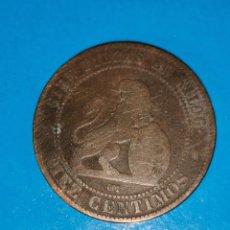 Monedas de España: MONEDA DE 10 CENTIMOS GOBIERNO PROVISIONAL 1870. Lote 219125600