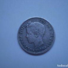 Monedas de España: MONEDA PLATA 50 CENTIMOS ALFONSO XIII 1900 ESTRELLAS VISIBLES 0 0. Lote 219530258