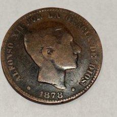 Monedas de España: MONEDA 10 CENTIMOS DE PESETA DE 1878. Lote 219640270