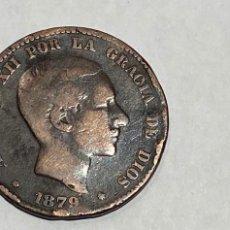 Monedas de España: MONEDA 10 CENTIMOS DE PESETA DE 1879. Lote 219642408