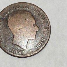 Monedas de España: MONEDA 10 CENTIMOS DE PESETA DE 1877. Lote 219643966