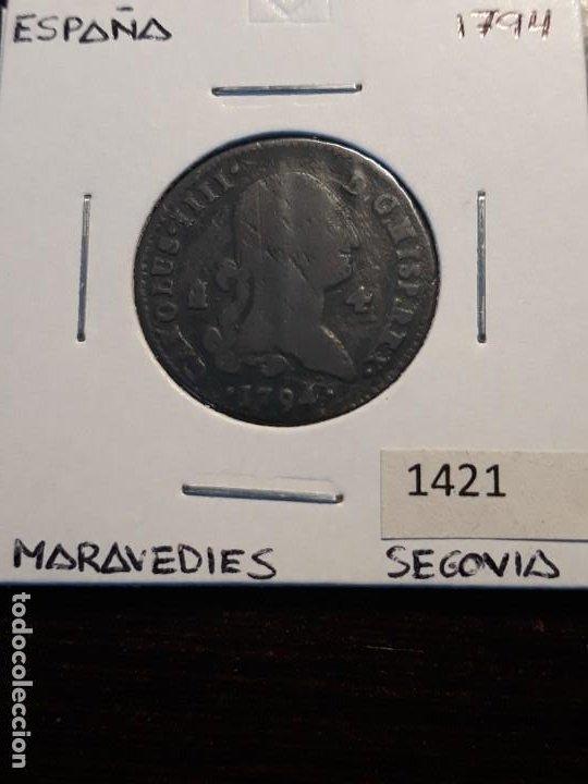 ESPAÑA 4 MARAVEDIS 1794 (Numismática - España Modernas y Contemporáneas - De Reyes Católicos (1.474) a Fernando VII (1.833))