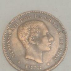 Monedas de España: MONEDA 5 CÉNTIMOS 1878.COBRE.ALFONSO XII.. Lote 220431940