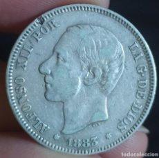 Moedas de Espanha: 2 PESETAS 1883 (MBC-). Lote 220480997
