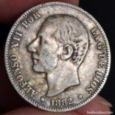 Moedas de Espanha: ALFONSO XII 2 PESETAS 1882 18*82* (MBC-). Lote 181177451