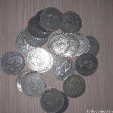 Monedas de España: LOTE DE 5 PESETAS DE PLATA, 518 GRAMOS. Lote 220615345