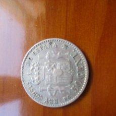 Monnaies d'Espagne: ISABEL II - 50 CENTIMOS 1992 9-2 PLATA. Lote 220648111