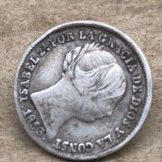 Monedas de España: MONEDA DE PLATA ISABELINA 1853 1 REAL. Lote 220820676