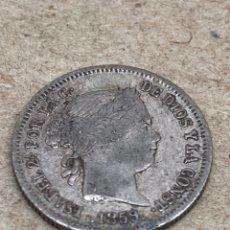 Monedas de España: MONEDA DE PLATA ISABELINA 1859 1RL. Lote 220821786