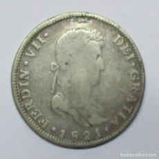 Monedas de España: FERNANDO VII 1821, MONEDA DE PLATA DE 8 REALES DE LA CECA DE GUADALAJARA-F.S.. LOTE 3476. Lote 221083828
