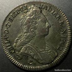 Monedas de España: IMPERIO ESPAÑOL JETON DE PROCLAMACION DE FELIPE V AMBERES 1702. Lote 221095792