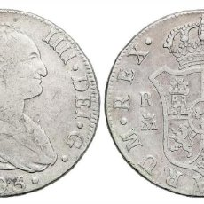 Monedas de España: 8 REALES CARLOS IV 1805 MADRID F.A.. Lote 221165332