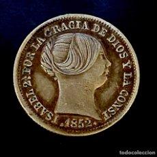 Monedas de España: ISABEL II-1 REAL-MADRID-1852. N018. Lote 221458037