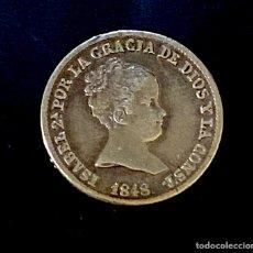 Monedas de España: ISABEL II-1 REAL-MADRID-CL-1848. N023. Lote 221459890