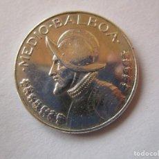Monedas de España: PANAMA . MEDIO BALBOA DE PLATA ANTIGUO . CALIDAD SIN CIRCULAR. Lote 221530787