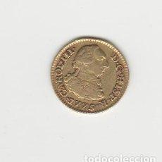 Monedas de España: CARLOS III- 1/2 ESCUDO- 1775-MADRID-PJ-ORO. Lote 221689893