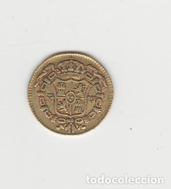 Monedas de España: CARLOS III- 1/2 ESCUDO- 1775-MADRID-PJ-ORO - Foto 2 - 221689893