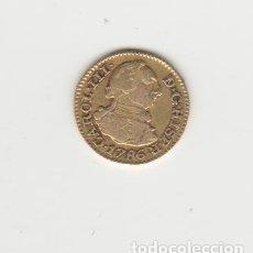 Monedas de España: CARLOS III- 1/2 ESCUDO- 1786-MADRID-DV-ORO. Lote 221690160