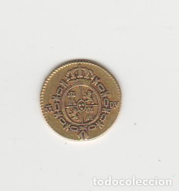 Monedas de España: CARLOS III- 1/2 ESCUDO- 1786-MADRID-DV-ORO - Foto 2 - 221690160