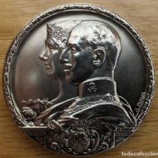 Monedas de España: MEDALLA DE PLATA. ALFONSO XIII. EXPOSICIÓN INTERNACIONAL DE BARCELONA. 1929. 69 GRAMOS Y 5 CM. Lote 221699920