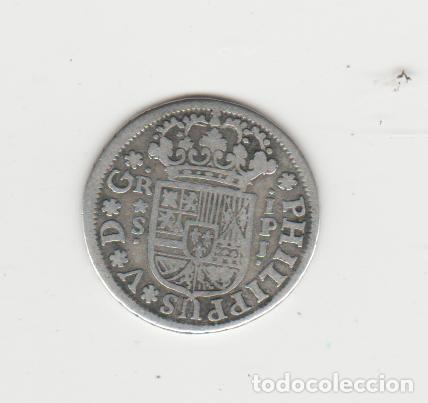FELIPE V- 1 REAL- 1745- SEVILLA IPJ (Numismática - España Modernas y Contemporáneas - De Reyes Católicos (1.474) a Fernando VII (1.833))