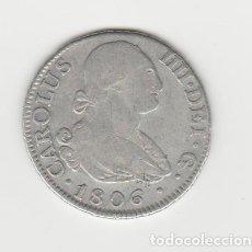 Monedas de España: CARLOS IIII/IV- 2 REALES- 1806 MADRID-FA. Lote 221731762