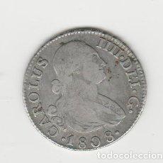Monedas de España: CARLOS IIII/IV- 2 REALES- 1808- MADRID- IG. Lote 221731845