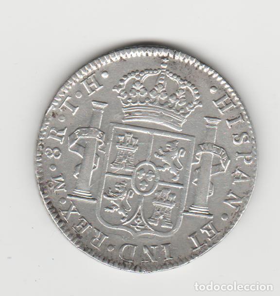 Monedas de España: CARLOS IIII/IV- 8 REALES- 1808- MEXICO- TH - Foto 2 - 221731900