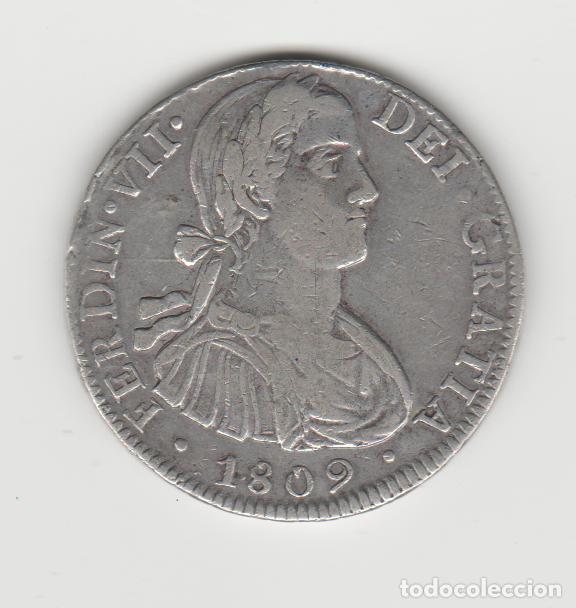 FERNANDO VII- 8 REALES- 1809- MEXIFO- TH (Numismática - España Modernas y Contemporáneas - De Reyes Católicos (1.474) a Fernando VII (1.833))