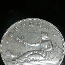 Monedas de España: MONEDA DE 5 PESETAS DE 1870 DE PLATA IMPRESIONANTE. Lote 221840006