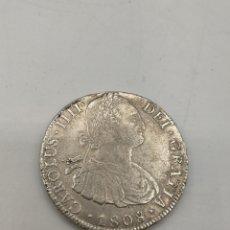 Monedas de España: 8 REALES DE PLATA. CARLOS LV. POTOSI - PJ - 1808. Lote 221882931