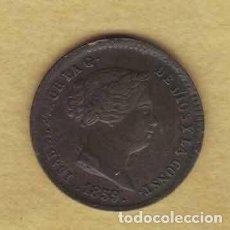 Monedas de España: ISABEL II 1859 5 CÉNTIMOS DE REAL. M012. Lote 221941232