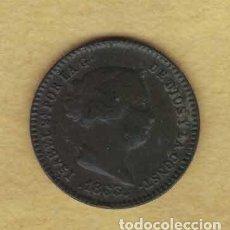 Monedas de España: ISABEL II 1863 5 CÉNTIMOS DE REAL. M016. Lote 221941573