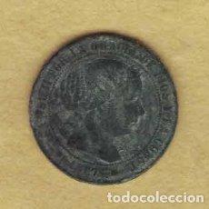 Monedas de España: ISABEL II 1867 MEDIO CÉNTIMOS DE ESCUDO. BARCELONA. M019. Lote 221942767