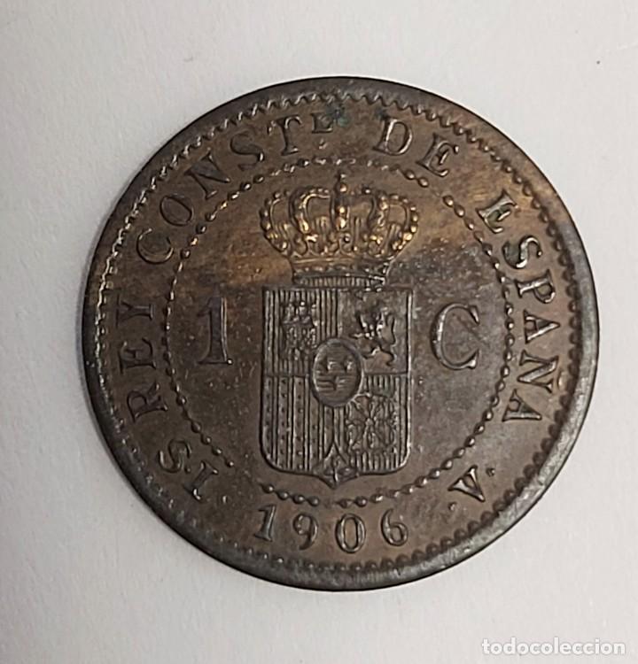 Monedas de España: LOTE 3 MONEDAS DE 1 CÉNTIMO 1906-1912-1913. Estrellas visibles. Ver imágenes - Foto 8 - 222141070