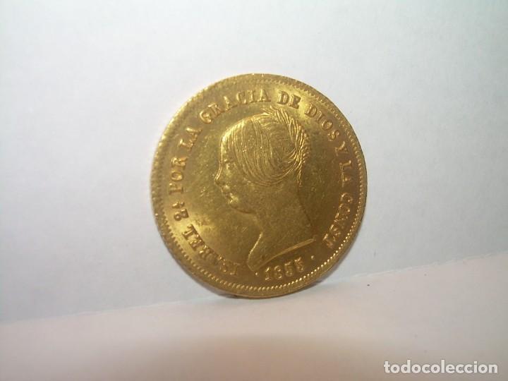 100 REALES DE ORO.....ISABEL II.....AÑO. 1855 (Numismática - España Modernas y Contemporáneas - De Isabel II (1.834) a Alfonso XIII (1.931))