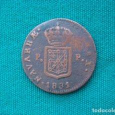Monedas de España: 3- MARAVEDÍS, FERNANDO VII. 1830. PAMPLONA. Lote 222218983