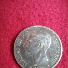 Monedas de España: 5PTAS 1878. Lote 222227700