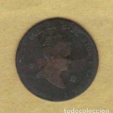 Monedas de España: ISABEL II 1858 2 MARAVEDÍS. BARCELONA 031. Lote 222391666