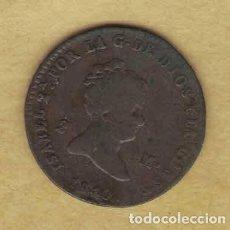 Monedas de España: ISABEL II 1840 2 MARAVEDÍS. SEGOVIA. 044. Lote 222439621