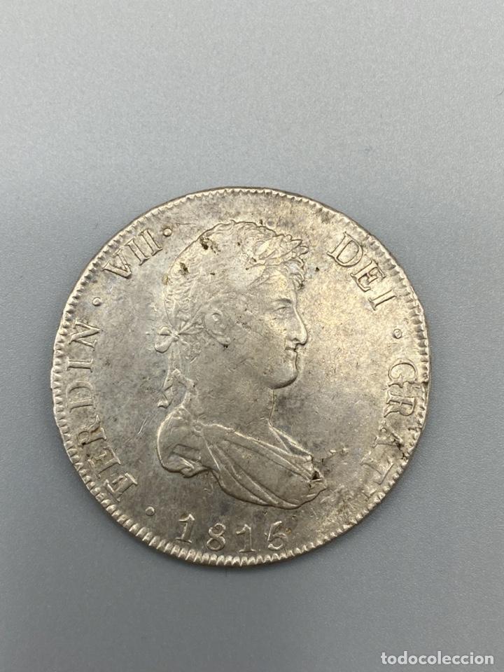 Monedas de España: MONEDA. FERNANDO VII. 8 REALES. POTOSI. 1815. PLATA. VER FOTOS - Foto 2 - 222532703