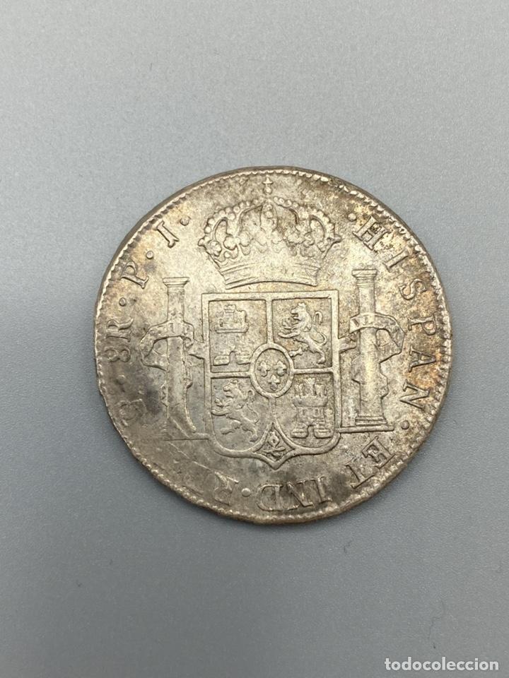 Monedas de España: MONEDA. FERNANDO VII. 8 REALES. POTOSI. 1815. PLATA. VER FOTOS - Foto 3 - 222532703